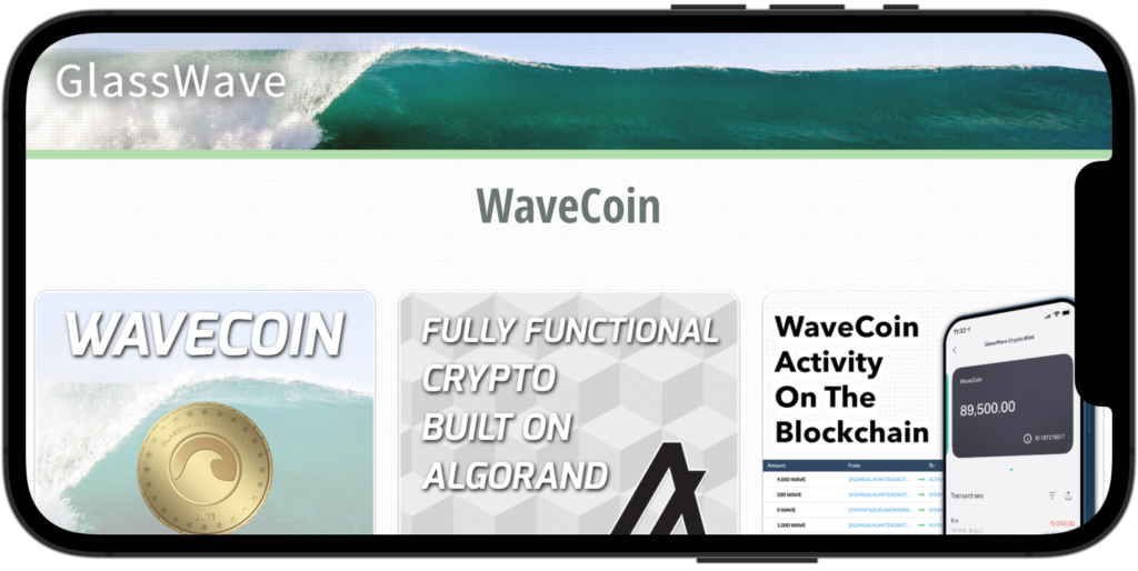 WaveCoin crypto