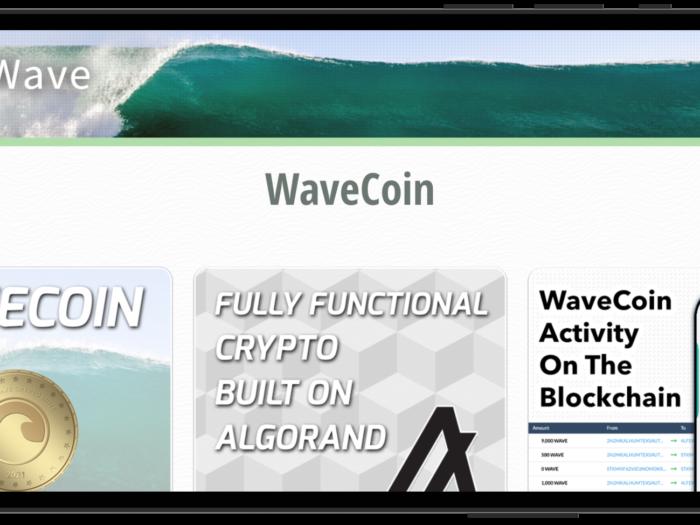 WaveCoin crypto